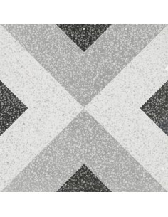Lido White Geometric 22,3x22,3
